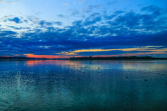 Lago Chiemsee Foto de Stock Royalty Free
