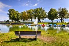 Lago Chiemsee, Baviera, Germania immagine stock libera da diritti