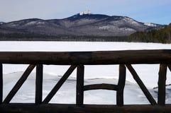 Lago Chochura en las montañas del blanco de New Hampshire Fotografía de archivo