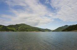 Lago Chungju Fotos de archivo