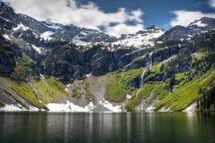 Lago chuvoso Foto de Stock