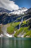 Lago chuvoso Imagem de Stock