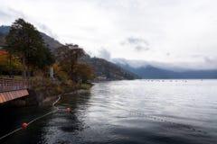 Lago Chuzenji em Nikko Foto de Stock