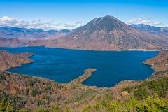 Lago Chuzenji en Nikko, Japón Foto de archivo