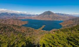Lago Chuzenji en Nikko, Japón Imagen de archivo libre de regalías