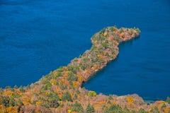 Lago Chuzenji en Nikko, Japón Fotos de archivo