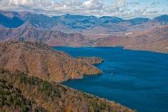 Lago Chuzenji en Nikko, Japón Imagen de archivo