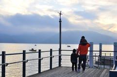 Lago Chuzenji - Japón Imagenes de archivo