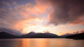 Lago Chuzenji nel Giappone fotografia stock libera da diritti