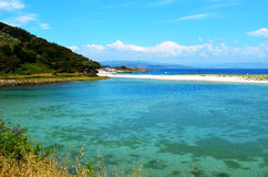 Lago Cies (Galicia, España) Fotos de archivo libres de regalías