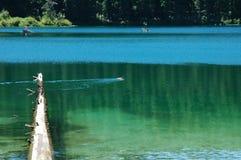 Lago claro, Oregon fotografía de archivo libre de regalías