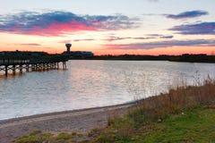 Lago cobblestone fotografia stock libera da diritti