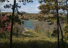 Lago Codorus in autunno Immagini Stock