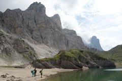 Lago Coldai Fotografie Stock