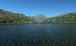 Lago Coldwater fotografia stock libera da diritti