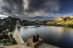 Lago Colomer Obrazy Royalty Free