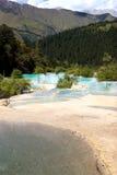 Lago colorido Fotografía de archivo