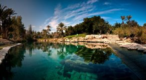 Lago com reflexão Fotografia de Stock
