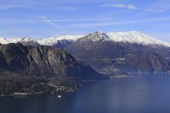 Lago Como Fotografie Stock