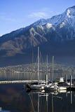 Lago Como Fotografia Stock