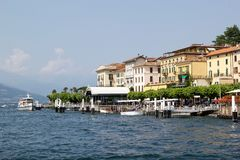 Lago Como Imágenes de archivo libres de regalías