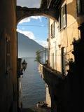 Lago Como Fotografia Stock Libera da Diritti