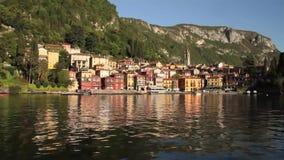 Lago Como almacen de metraje de vídeo