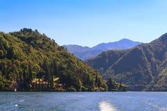 Lago Como fotografía de archivo libre de regalías