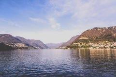 Lago Como Foto de archivo libre de regalías
