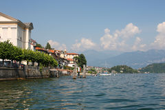 Lago Como Fotografia de Stock