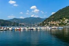 Lago Como Imagen de archivo libre de regalías