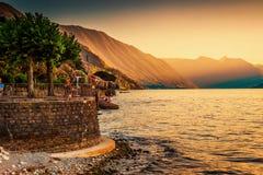 Lago Como, Bellagio L'Italia Fotografia Stock Libera da Diritti