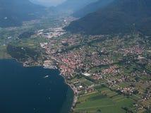 Lago Como - Colico Imágenes de archivo libres de regalías