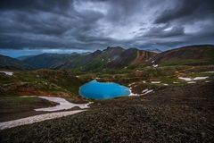 Lago Como Colorado Fotografie Stock Libere da Diritti