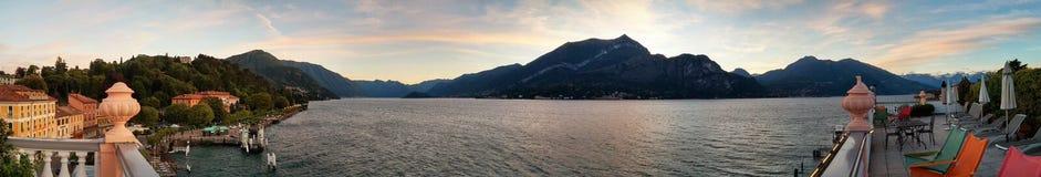 Lago Como de Bellagio Imagens de Stock