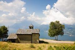 Lago Como del panorama Imagenes de archivo