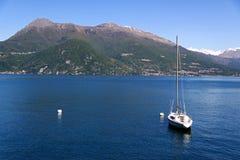 Lago Como en Italia Fotografía de archivo libre de regalías