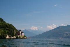 Lago Como Gaeta della villa Fotografia Stock Libera da Diritti