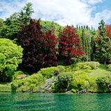 Lago Como garden Foto de archivo