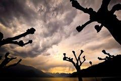 Lago Como Italia Imagen de archivo