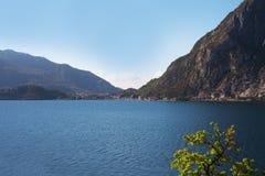 Lago Como, Italia. Immagine Stock