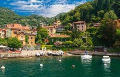Lago Como Italia Fotografie Stock Libere da Diritti