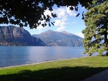 Lago Como in Italia Fotografia Stock