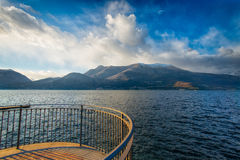 Lago Como Italia fotografía de archivo