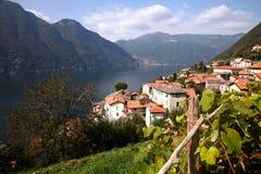 Lago Como, Italia Fotografie Stock Libere da Diritti