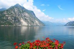 Lago Como, Italia Fotografie Stock