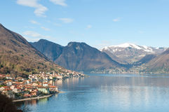 Lago Como, Italy Royalty Free Stock Photo