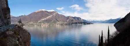 Lago Como, Italy. Village in the shore of Lago Como, in Italy Stock Photo