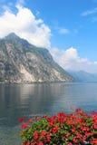 Lago Como, Lecco, Italia Fotografie Stock