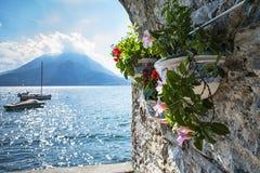 Lago Como Varenna Fotos de archivo libres de regalías